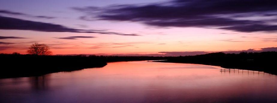 Spring Sun Set